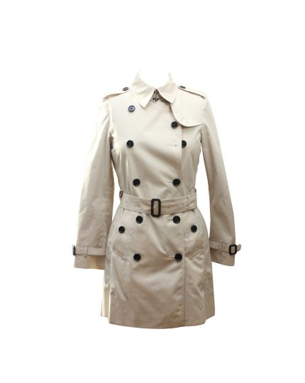 Sandringham mid-length trench coat