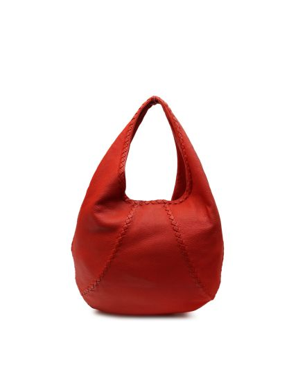 Red Cervo Hobo Bag