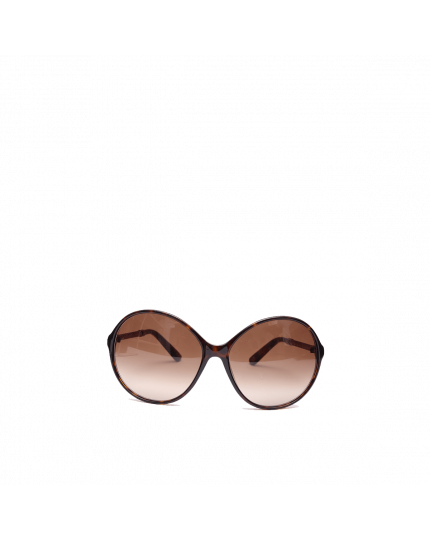 Bottega Veneta Round Acetate Sunglasses