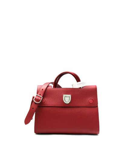 Bullcalf Indian Red Diorever Flap Bag