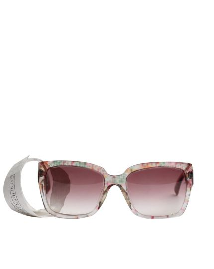 Clear Wayfarer Sunglasses