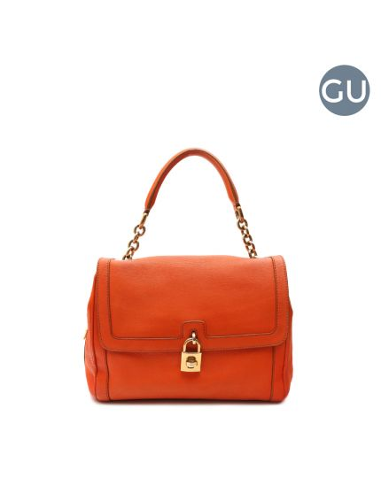 Orange Front Flap bag