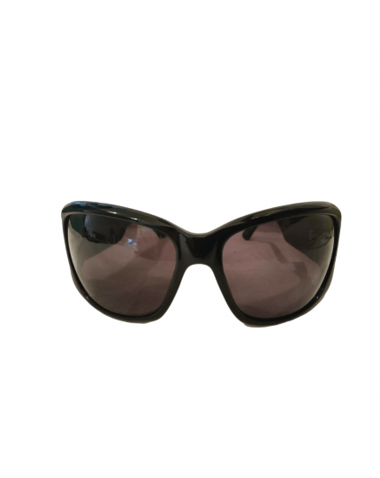 Womens Designer Black Square Sunglasses