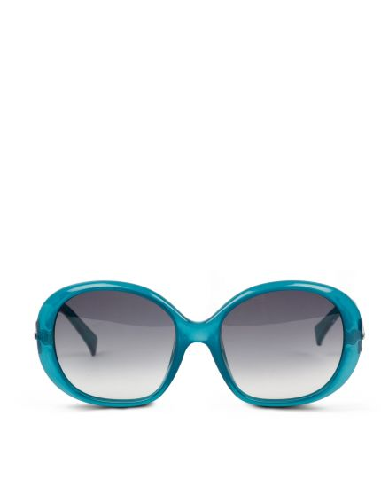Green print sunglasses