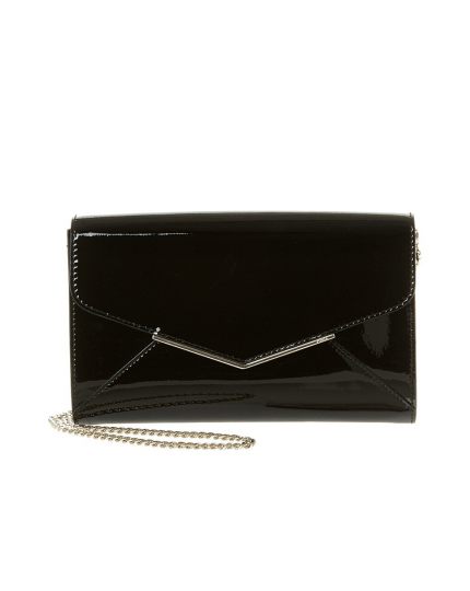 Cherie Patent Leather Envelope Crossbody