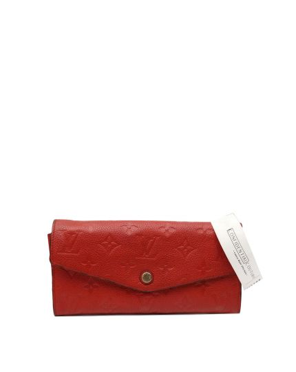 RED EMPRIENTE CLEMENCE WALLET