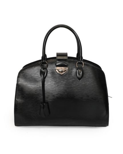 Louis Vuitton Black Electric Epi Leather Pont Neuf Bag