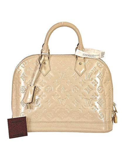 Louis Vuitton Vernis Alma Beige PM