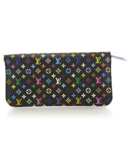 Black Multicolor Insolite Grenade Wallet