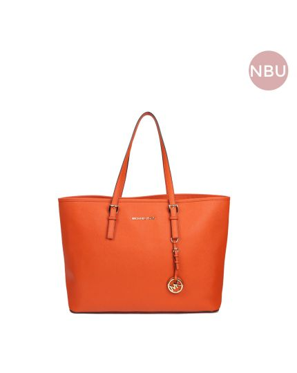 Jet Set Travel Tote Orange bag