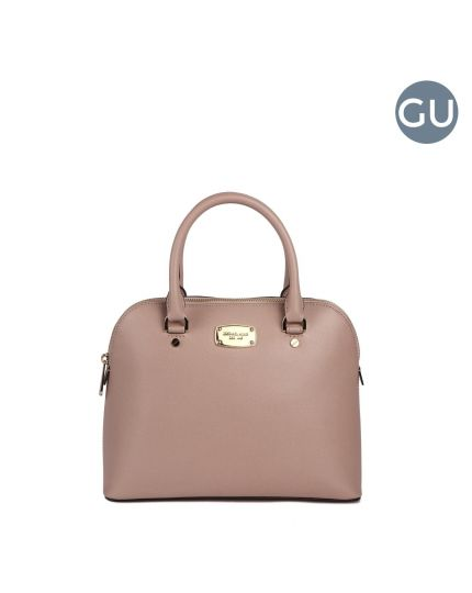 Michael Kors baby pink cindy satchel bag