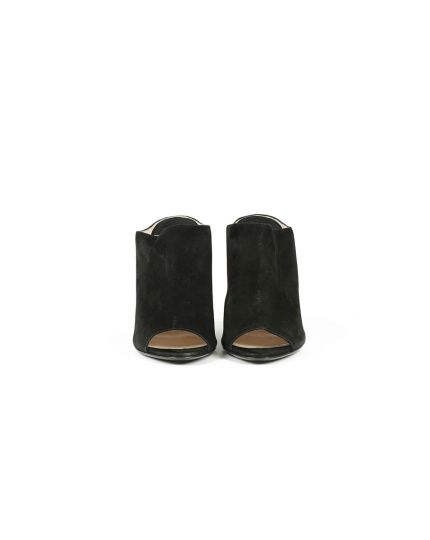 PRADA BLACK WEDGES SIZE - 40