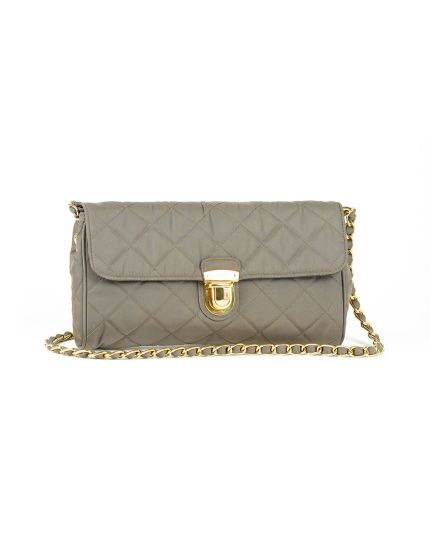 Prada Olive Tessuto Quilted Nylon Cross Body