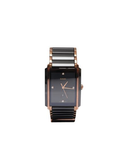 Unisex Black Integral Watch