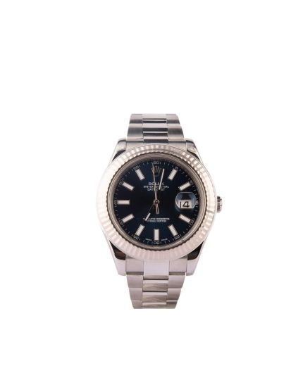 Rolex Oyster Perpetual Datejust 41 Blue Dial Automatic Mens Watch