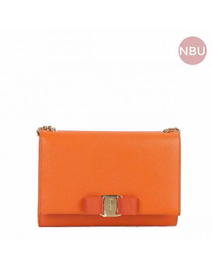Orange Vara Bow Sling Bag