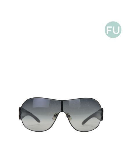 Black Rimless Sunglasses
