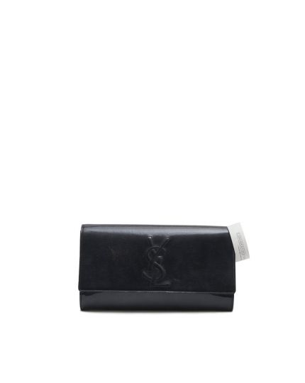 Dark Blue YSL Belle Du Jour Clutch