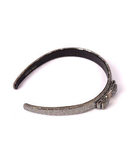 Salvatore Ferragamo Silver Hairband