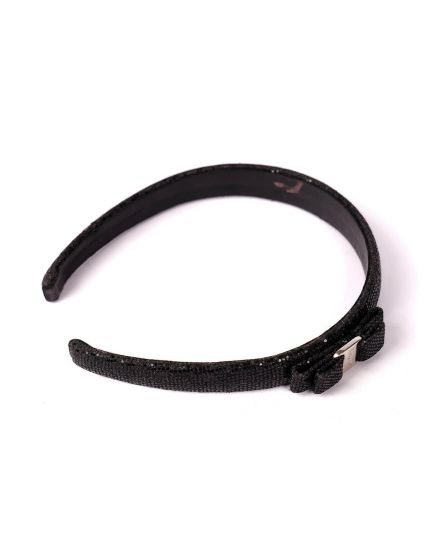 Salvatore Ferragamo Black Hairband