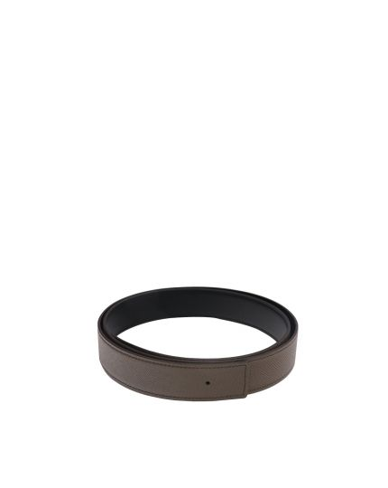 Unisex Black & Grey Belt Size 85
