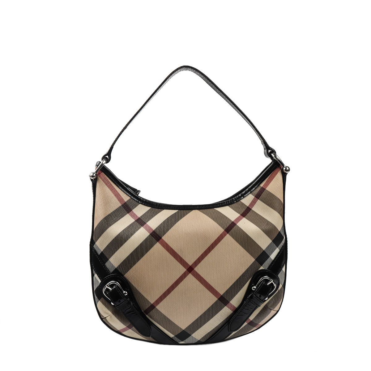 5a369263ee Authentic Burberry Classic Nova Check Brooke Hobo