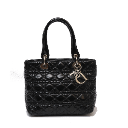Lady Dior Patent Leather Cannage Small Bag