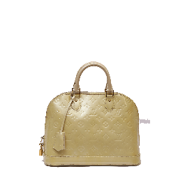 Louis Vuitton Patent Leather Alma Pm