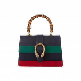 Blue Green and Red Dionysus Top Handle Bag