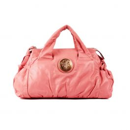 Gucci Pink Leather Hysteria Bag