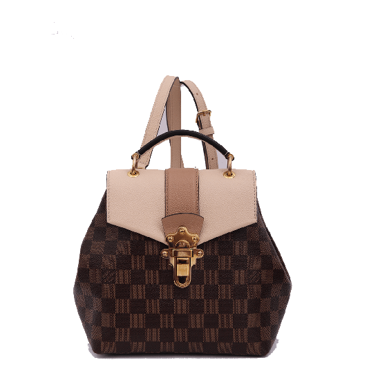 Louis Vuitton Damier Ebene Clapton Backpack Magnolia