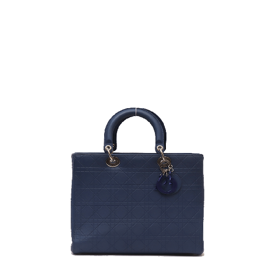 Lady Dior Large Cannage Tote