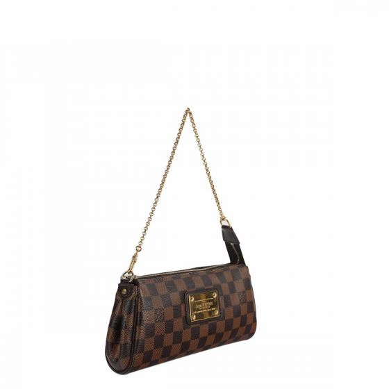 18ae856b397c3 Authentic LOUIS VUITTON DAMIERE EVA CLUTCH